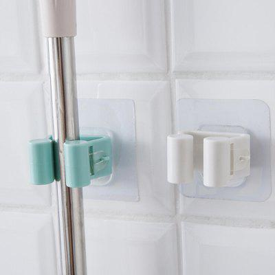 Punch-free Mop Hanging Storage Hook for Bathroom