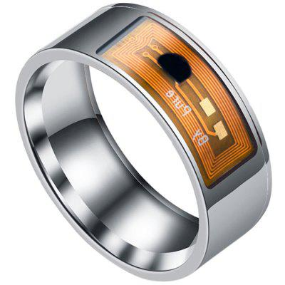Stainless Steel NFC Smart Ring