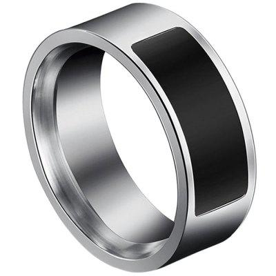Stainless Steel Ring Type NFC Control Smart Bracelet