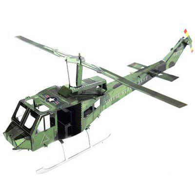 DIY Hand-assembled Helicopter Model Ornaments