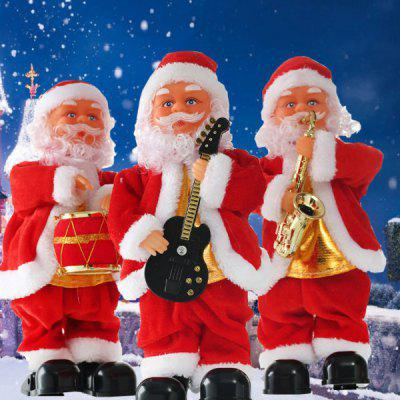 Santa Claus Electric Stepping Christmas Toy with Music