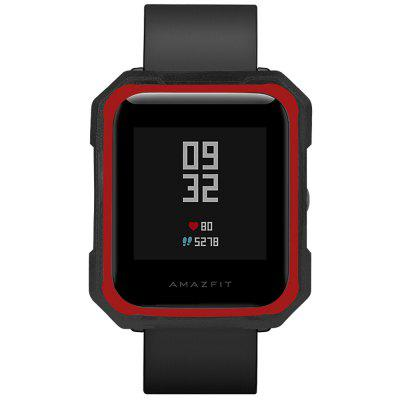 Two-color Armor Version TPU Soft Anti-break Protective Cover for AMAZFIT Bip Youth Version