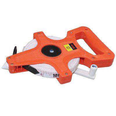 Portable Plastic Shelf Ruler Thickened Wear-resistant Hand-stitching Ruler Glass Fiber Tape Measure