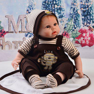 22 - 23 Inch Simulation Baby Rebirth Doll Strap Suits