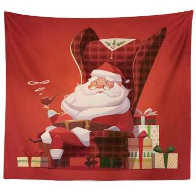 Decorative Tapestry Christmas Series TV Background Wall Landscape Polyester Cloth Lanyard