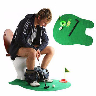 Telescopic Funny Toilet Mini Golf