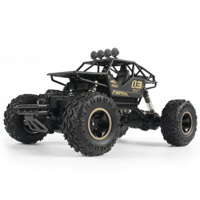 6141 Alloy Off-road Four-wheel Drive Electric Charging High-speed Big Truck Wireless Remote Control Car