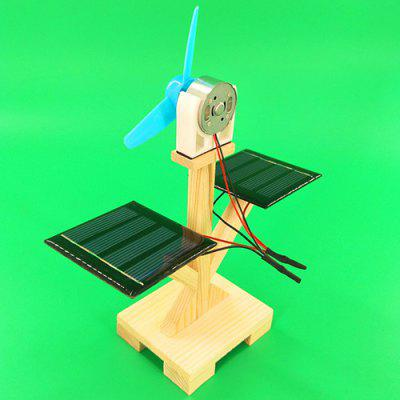 DIY Technology Small Production Solar Fan Toy