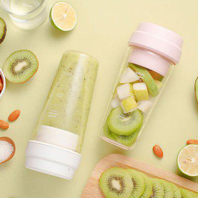 From Xiaomiyoupin 17PIN 400ML Portable DIY Fruit Juicing Extractor Cup Magnetic Outdoor Travel Bottle