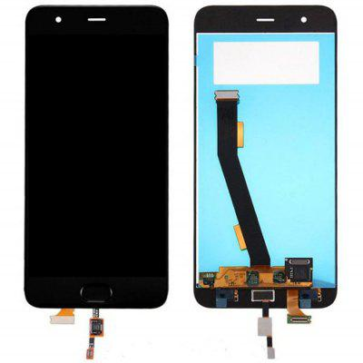 Black LCD Screen Assembly for Xiaomi Mi 6