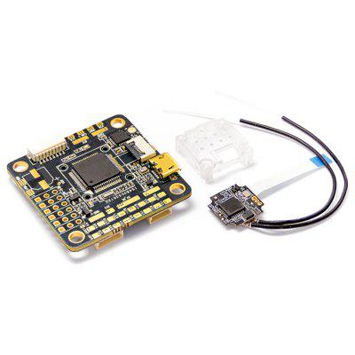 FrSky RXSR - FC OMNIBUS F4 V6 Flight Controller with RXSR Receiver MPU6000 OSD for RC Drone