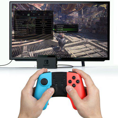 Intelligent Wireless Gaming Controller Gamepad