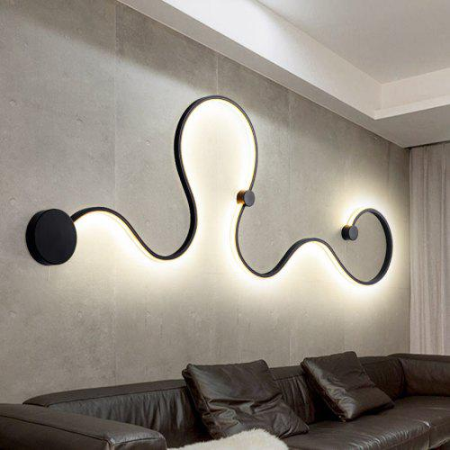 Nordic Wall Lamp Personality Creative Living Room Aisle Bed Background Decorative Lighting Post Modern Bedroom Stair Light