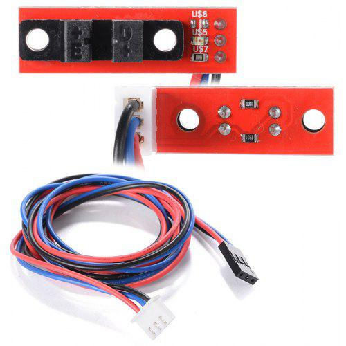 3D Printer Parts Optical Endstop Light Control Limit Optical Switch for 3D Printers RAMPS 1.4 With Cable