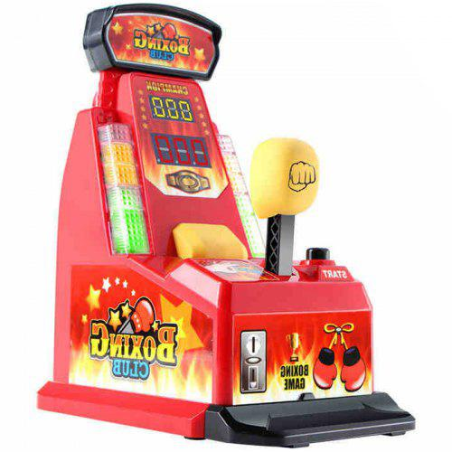 Finger Integrator Coin Operated Arcade Boxing Machine Toy