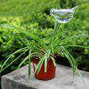 Bird Shaped Glass Plant Flower Holiday Watering Spike Stake Water Feeder - TRANSPARENT