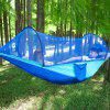 290 x 140CM Automatic Quick Opening With Mosquito Net Hammock - TRON BLUE