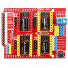 V3.0 Engraver CNC Shield Board A4988 Stepper Motor Drivers for UNO R3 Arduino - RED