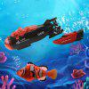 Mini Remote Control Submarine Kids Water Toy - BLACK