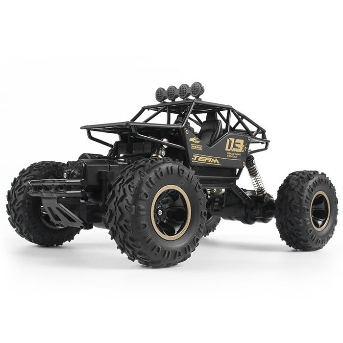 6141 Alloy Off-road Four-wheel Drive Electric Charging High-speed Big Truck  Wireless Remote Control Car   Gearbest Mobile