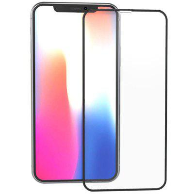 ZK Flow Versie 2.5D Silk Tempered Glass Displayfolie voor iPhone X