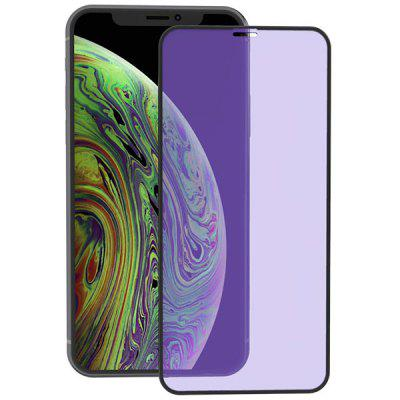 ZK Flow-versie 2.5D Silk Tempered Glass Displayfolie voor iPhone XS Max
