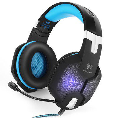 KOTION ELKE G1000 Stereo Gaming Headset LED-hoofdtelefoon