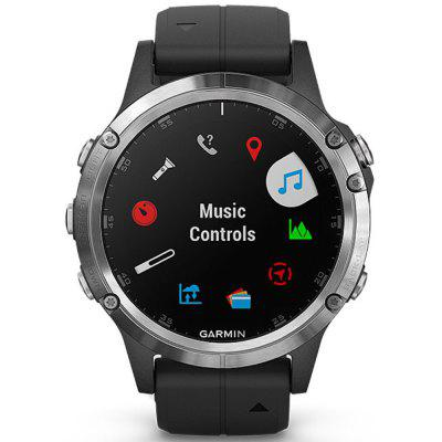 GARMIN Fenix 5 Plus 1.22 inch Bluetooth 4.0 Sapphire Mirror Sports Smart Watch English Version  Image