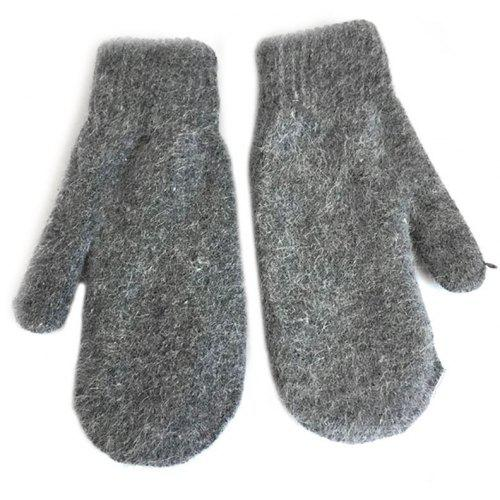 a7a70285ddb2 Men S Gloves Warm Rabbit Fur Double Thick Knitted Wool 6 62