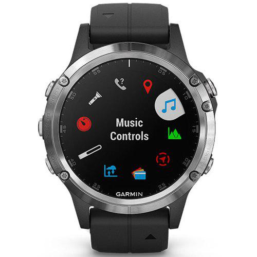 GARMIN Fenix 5 Plus English Sapphire Mirror Black Silver