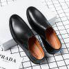 9816 Men's Shoes One-legged Casual - BLACK