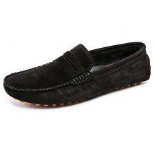 b9efea10cbb 778 Men s Peas Shoes Large Size Leather Driving One Foot