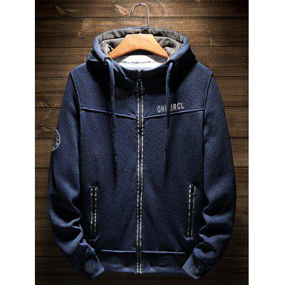 Hooded Pulover Mens Loose jos