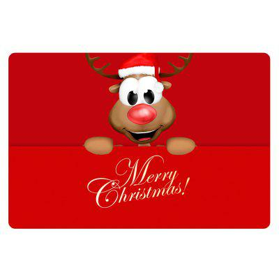 Stylish Santa Mat Pattern Customized Mat 40 x 60cm