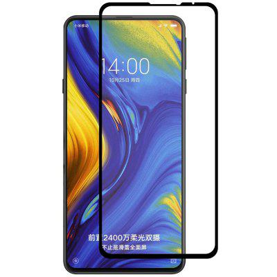 Hat Prince Full-size 0.26mm 9H 2.5D Full-screen Tempered Glass Protective Film for Xiaomi Mix 3