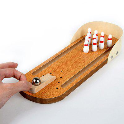 Wooden Mini Bowling Children's Educational Toy