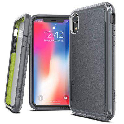 Metal Frame PC Phone Case for iPhone XS Max