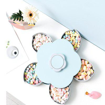 Gearbest / Home Fashion Lid Rotating Fruit Nut Plate