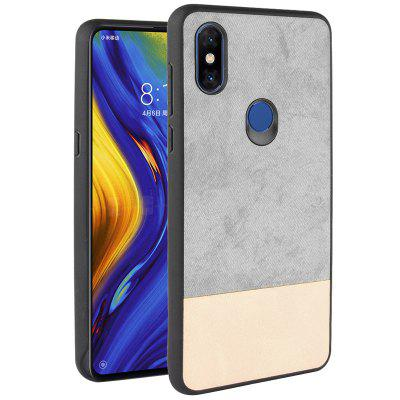 LuanKe Contrast Color Pattern Phone Case for Xiaomi Mix 3