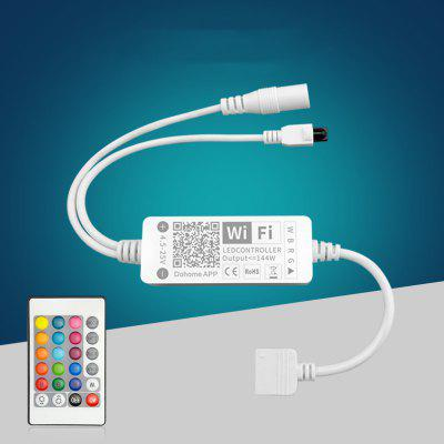 Smart WiFi LED Strip Controlador e Controle Remoto