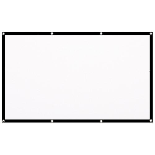 Gocomma Projector Screen WHITE 120 pouces