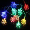 BRELONG LED Colorful Waterproof Holiday Lights String - WHITE