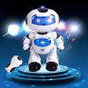 Electric Intelligent Robot Remote Controlled RC Dancing Robot - WHITE