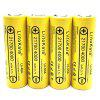 LiitoKala Lii - 40A 21700 4000mAh 3.7V Rechargeable Battery 2PCS - YELLOW
