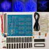 DIY Electronic LED Cube 3D Light Square - BLUE