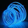 Gocomma Cool Waterproof LED Strip Light Wire Tube Neon Light Inside Atmosphere Light Decoration Car Interior - BLUE