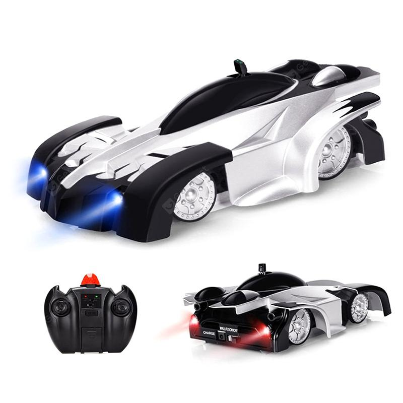 Intelligent Infrared Remote Control Wall Climbing Drift Electric Car Model Toy - BLACK