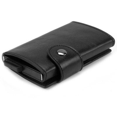 Automatic Pop-up Aluminum Alloy Card Holder Anti-theft Package