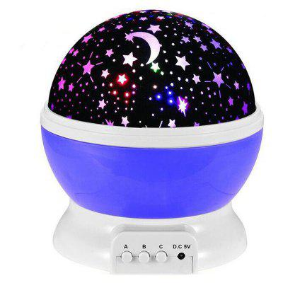 Rotating LED Starlight Projection Starry Light