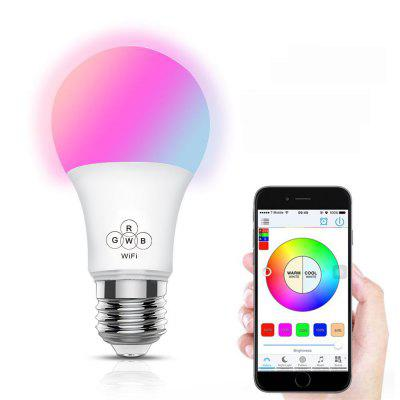 Colorful Smart WiFi Bulb Support Alexa / Google Voice Control for Home, Colorful Smart WiFi Bulb,Smart Bulb,Voice Control Light Bulb,Colorful Bulb